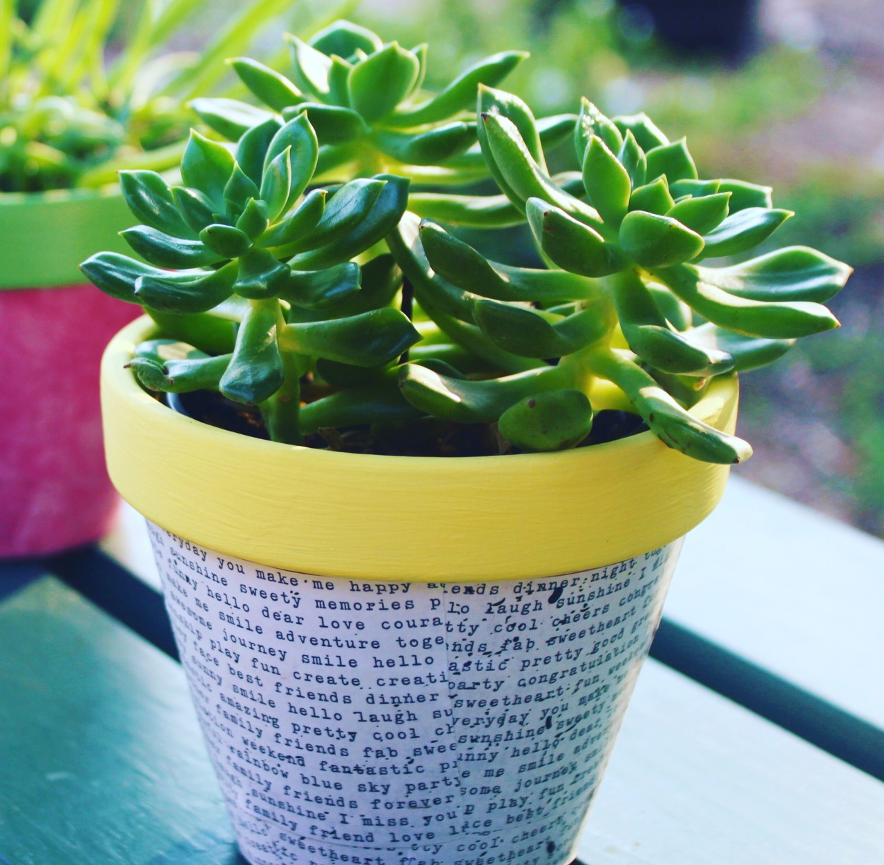 DIY Decoupage Pot