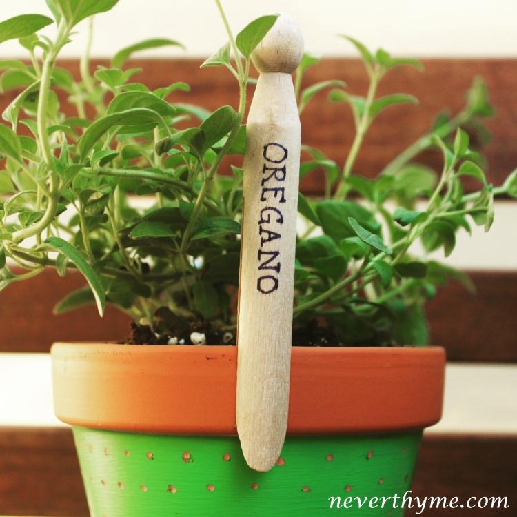 DIY Garden Marker