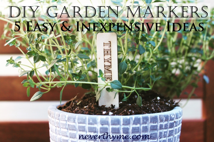 DIY Garden Markers & Labels