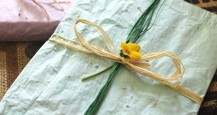 Use It Plant It Diy Seed Wrapping Paper Never Enough Thyme
