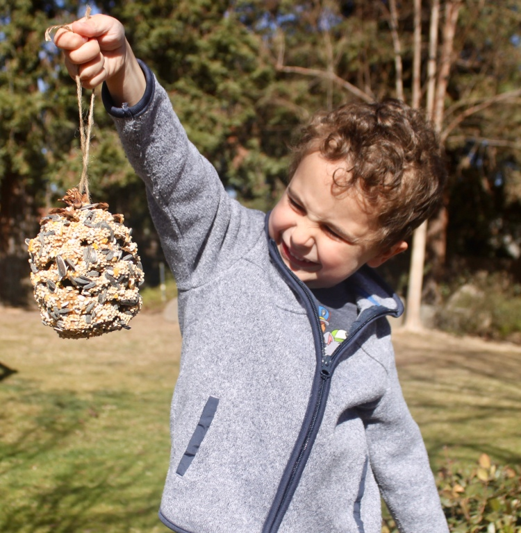 Garden Project for Kids: Bird Feeder